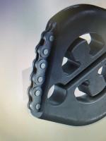 Auspuffgummi groß VW verbesserte Version mit Fangkette