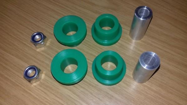 Querlenkerlager grün außen für Polo 86, 86C, auch G40 verstärkt