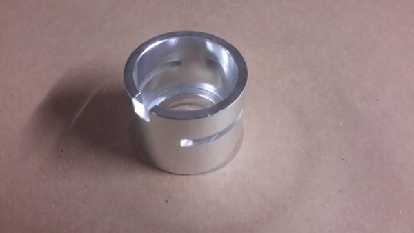 CO Poti Flansch aus Aluminium