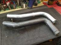 Polo II G40 Druckrohr / Ladedruckrohr aus Aluminium poliert 60mm
