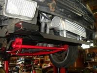 Querträger aus Aluminium für Ladeluftkühler für Polo III G40 / G60 und Turbo