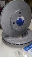 Powerdisc Bremsscheiben für den Polo G40