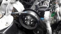 Verstellbares Nockenwellenrad mit 6PK Zusatzrad für den Generator