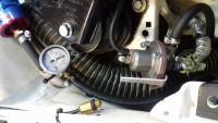 Benzindruckregler einstellbar für alle G40/G60 - Modelle mit Druckanzeige
