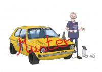 Karikatur von euch und euerm Auto