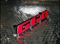 Emblem für den G60 Kühlergrill aus Kunststoff für Corrado und Passat