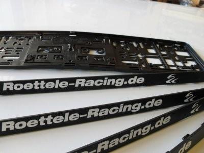 Nummernschildverstärker Röttele-Racing
