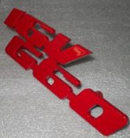 Emblem für den 16VG60 Kühlergrill aus Aluminium