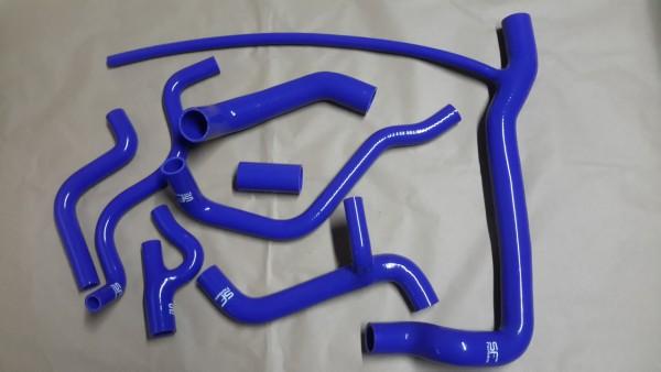 Kühlwasserschlauchsatz Golf G60 und Corrado G60 Silikonschlauchsatz in blau