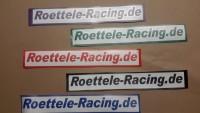 Aufkleber Folienschnitte Röttele-Racing 300 mm