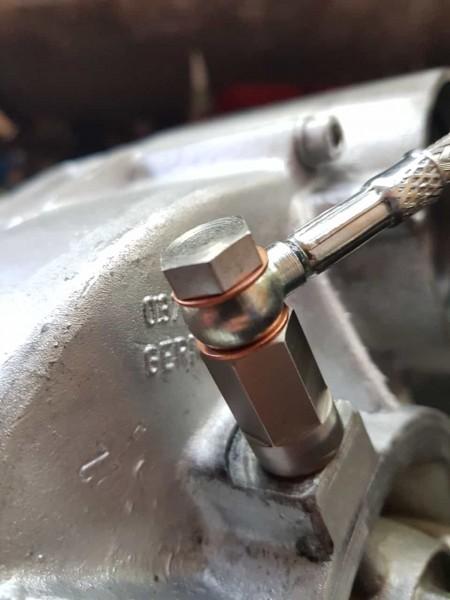 Adapter für die G-Lader Zulaufleitung, Ölleitung, Ölzulaufleitung bei defektem Gewinde