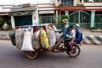 Transport für Motor und Getriebe