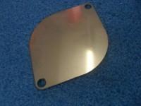 Verschlussplatte Bypassseite G40 Lader