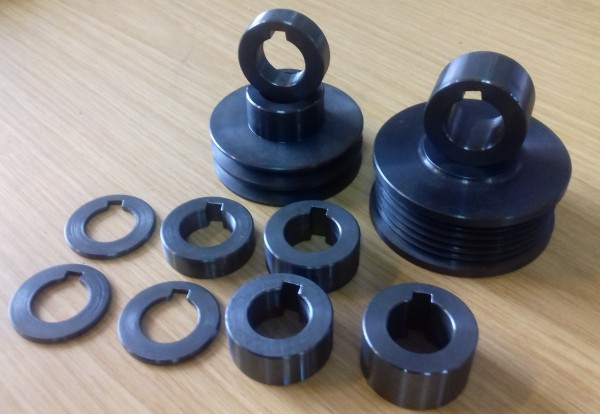 Unterlagscheibe für Laderräder G40, G60, G-Lader aus Stahl
