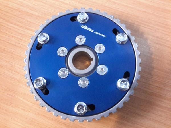 Verstellbares Nockenwellenrad Schlepphebelmotor