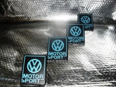 Emblem VW-Motorsport Limited Edition