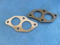 Stahlflanschplatte für Polo G40 Kat