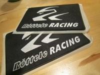 Aufnäher von Röttele-Racing für Rennsportanzüge, Jacken usw.