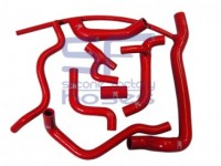 Kühlwasserschlauchsatz Golf G60 und Corrado G60 Silikonschlauchsatz in rot