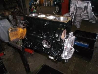 Motorblock für Polo G40 mit 1470ccm3 Wiseco Kolben , K1 Pleuel