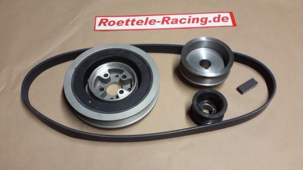 6PK Riementrieb für Polo G40 mit großem Kurbelwellenrad