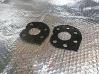Sturzkorrekturplatten für Hinterachse universell für alle VW & Seat