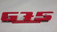 Emblem für den G75 Kühlergrill aus Aluminium mit Werbung