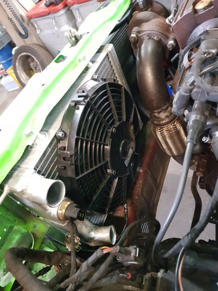 Wasserkühler maxi für Polo II G40 mit G60 Lader oder Turbolader