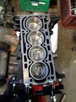 1,4 Liter Fsi und Tsi Motorblock mit Zylinderkopf Instandsetzung mit Wiseco Kolben
