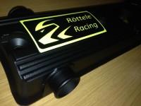 Ventildeckel Polo G40 mit unserem Logo in den Farben Blau, Rot und Gelb Röttele Racing.